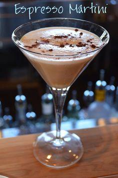 Expresso martini : exp vodka, Kailua, baileys, expresso,  vanilla ice cream