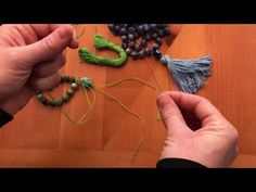 Cord Knotting Tip: How to knot against a bead - YouTube