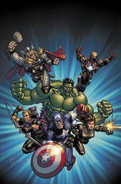 Custom Designed Avengers Movie Poster by davidyardin on DeviantArt
