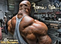 Ain't nothing, but a peanut! Need a little motivation this morning? Read this: http://nutritionbeast.com/mr-olympia-ifbb-pro-ronnie-coleman-interview/