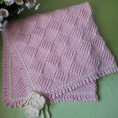 Eksiltmeli ve Artırmalı Selani Hand Knit Blanket, Knitted Baby Blankets, Crochet Blanket Patterns, Knitted Blankets, Baby Knitting Patterns, Baby Blanket Crochet, Free Knitting, Crochet Bebe, Knit Crochet