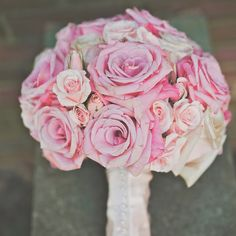Pink bridal bouquet | Photographer: Hot Metal Studio | Bouquet: Hepatica