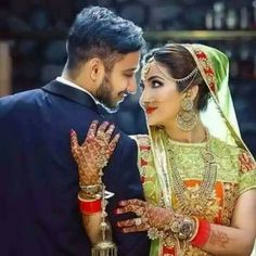 Couple Wedding Dress, Wedding Couple Photos, Wedding Couples, Wedding Ideas, Wedding Pics, Wedding Photoshoot, Photoshoot Ideas, Wedding Dresses, Indian Wedding Poses