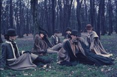 Photographed by Deborah Turbeville for Valentino Fall/Winter 1977, Vogue Paris. From Style Bubble.