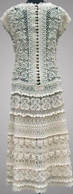 crochet dress on etsy.com by TsarevaCrochet