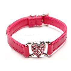 Leather Dog Collar Rhinestone Bling Pet Collar Crystal for Small Medium Dog Cat,Hot Selling Dog Products ^^ Check out this great image  : Collars for dogs