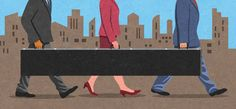 Ilustración de stock : Businessmen and businesswoman sharing long briefcase Hiring Process, Briefcase, Business Women, Illustration, Tips, Training, Work Outs, Illustrations, Excercise
