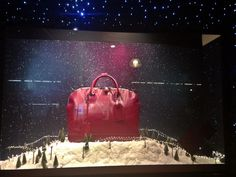 Selfridges Christmas Window 2013