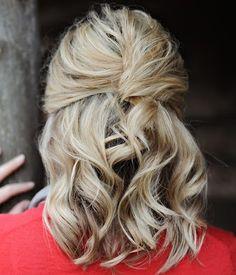 Hair Bridesmaids Hairstyles, Bridesmaid Hair, Skin Makeup, True Beauty, Her Hair, Hair And Nails, Cheer, Hair Beauty, Passion