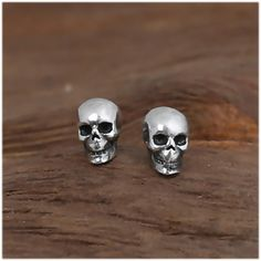 Cheap earring stud set, Buy Quality stud set directly from China 925 sterling Suppliers: 925 Sterling Silver Skull Earrings Studs Set Small Rock Punk Gothic Vintage Jewelry For Men And Women Brinco Masculino Punk Rock, Black Hills Gold Jewelry, Skull Earrings, Gothic Earrings, Sterling Silver Earrings Studs, Silver Bracelets, Earring Studs, Silver Rings, Silver Man