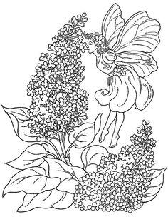 Dibujos para Colorear Fantasia 27