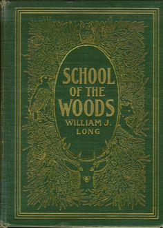 School of the Woods.: GREAT COVER for mini handmade book.....