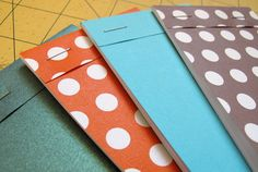 DIY: pocket notebooks