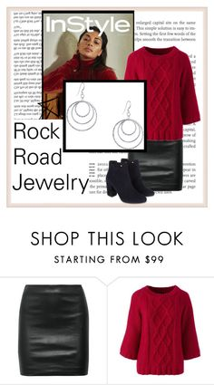 """""""Rock Road Jewelry 10"""" by julyete ❤ liked on Polyvore featuring The Row, Lands' End and Monsoon"""