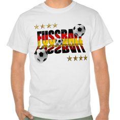 Fussball Fußball flag of Germany Soccer Four Stars T Shirt Sports Art 36b3c6879