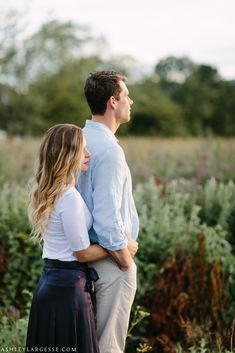 New England country engagement photos by Ashley Largesse