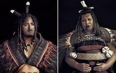 Fascinantes fotografias de las Tribus mas remotas del Mundo Maori, Nueva Zelanda