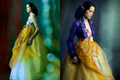 hanbok coutoure fusion (designed by kim mee hee)