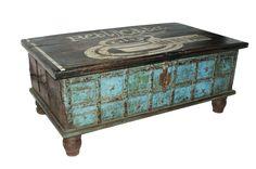 Imágenes de los Cofres antiguos para interiorismo y decoración