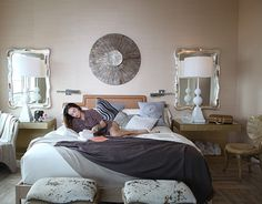 Kelly Wearstler Bedroom - Pictures of The Tides Hotel Miami - House Beautiful
