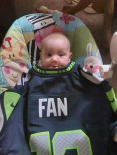 Young Seahawks Fan..!