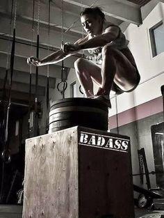 BadAss Box Jump - #fitness #fitspiration