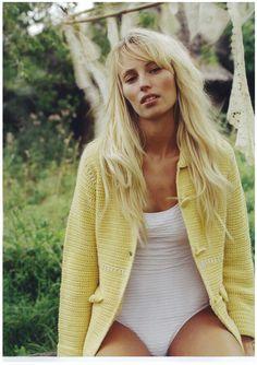 Odd Molly crochet cardigan in Damernas Värld no. 5 2006 Sweden