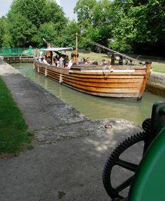 Promenade en gabare sur le fleuve Charente - Ville de Cognac