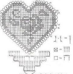 Tina's handicraft : 27 designs patterns for crochet harts Crochet Butterfly Pattern, Baby Afghan Crochet Patterns, Filet Crochet Charts, Doily Patterns, Heart Patterns, Crochet Motif, Crochet Doilies, Thread Crochet, Crochet Stitches