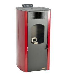 Kominek na pellet FRANCY 10 kW - bordowy Home Appliances, Space, House Appliances, Floor Space, Appliances, Spaces