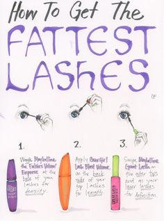 Mascara combos really are the best thing
