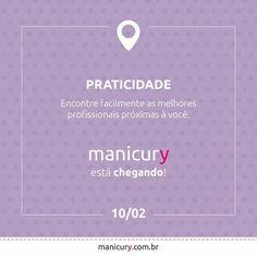 Cuidar de suas unhas nunca foi tão fácil. Manicury está chegando para trazer mais praticidade à sua rotina de beleza!  Cadastre-se e fique por dentro de todas as novidades: www.manicury.com.br