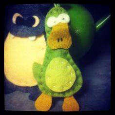Felt Duck.  Handmade by Robinson&Co