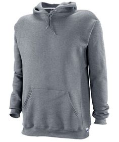 $18 Russell Athletic Men's Dri Power Hooded Pullover Sweatshirt, Oxford, Large