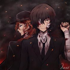 Chuuya and Dazai | Soukoku