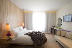 Natural light is king at The Morgan as well as luxurious interiors with bespoke designs and neutral themes #luxury #rooms