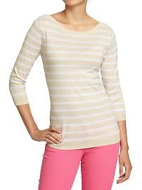 Women's Boat-Neck Sweaters Old Navy