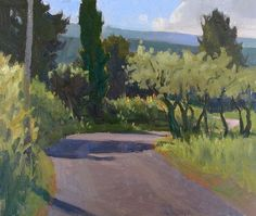 IanRoberts.com - Gallery - Plein air paintings done this spring in Provence and in Spruce Head Island, Maine, in June 2013