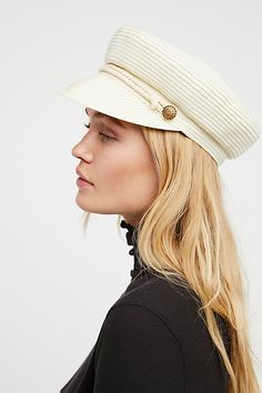 Free People Walk the Walk Lieutenant Hat | under $50