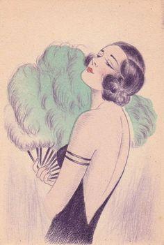 Fan, 1920s