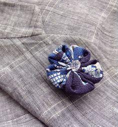 Blue Lapel Flower Custom Lapel Pins Mens Lapel Pin Flower Lapel Pin Boyfriend Gift for Him Kanzashi Brooch Silk Boutonniere Mens Suit by exquisitelapel on Etsy https://www.etsy.com/listing/466695179/blue-lapel-flower-custom-lapel-pins-mens