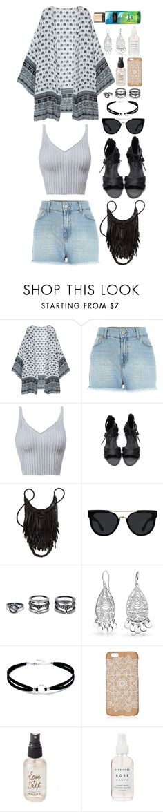 """""""Boho/Festival Summer"""" by beckythehobbit on Polyvore featuring Quay, LULUS, Bling Jewelry and Olivine"""