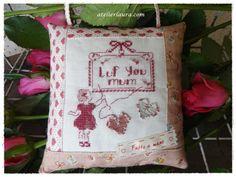 Moederdag borduur-stofpakketje | NIEUW BINNEN | Atelier Laura