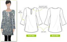 Michelle Tunic pattern