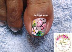 New Nail Art Design, Nail Art Designs, Toe Nail Art, Toe Nails, Akira, Pretty Nails, Nailart, Toe, Designed Nails