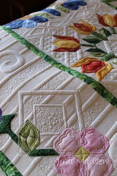 PB4; Green Fairy quilts