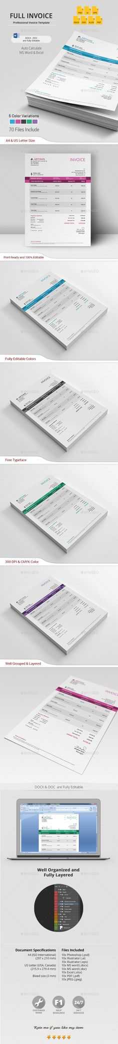 Invoice Print Templates