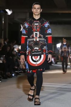 Givenchy Spring Summer Menswear 2014 Paris