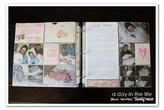 Using Project Life for a baby book