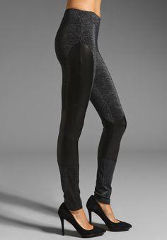 MINKPINK Sparkle Motion Paneled Leggings at Revolve Clothing - Free Shipping!